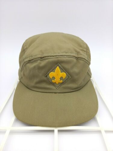 Boy Scouts of America Official Headwear Green Cap Hat with Adjustable Strap