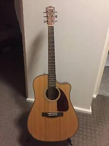 Fender guitar semi acoustic with case Balmain East Leichhardt Area Preview