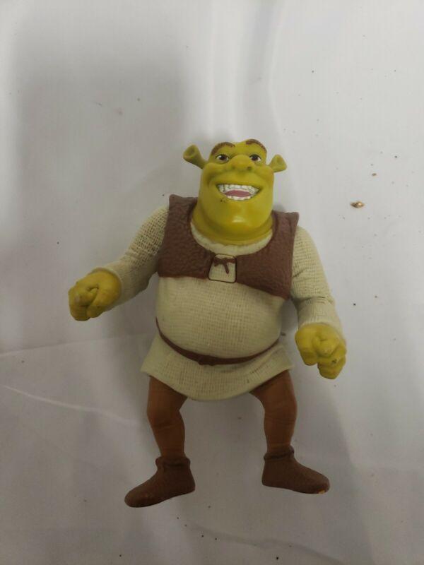 "Shrek Talking Speaking Figurine Figure Posable Character Dreamworks 6"""