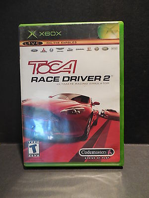 Toca Race Driver 2 Xbox Live  Game Complete In Case