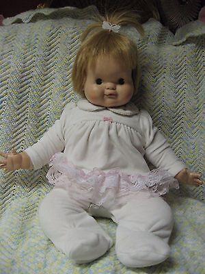 Large Vintage Madame Alexander  Pumpkin Baby Doll 1967