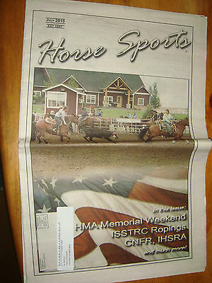 June 2010 Horse Sports News Paper Northwest Rodeo Sports News Isstrc Ropings