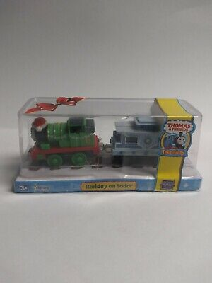 Thomas and FriendsTake Along Train Holiday on Sodor Die Cast Set Free Shipping