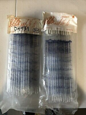 Corning Pyrex Serological Pipets Plugged 7078-5n 5ml In 110 150 Total