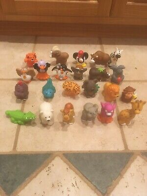 Fisher Price Little People 2004 Alphabet A to Z Lot of 23 Learning Zoo Animals