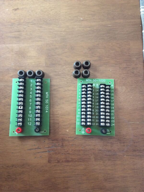 MTH  50-1014 And 50-1020 Wiring Terminals
