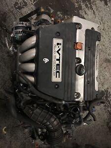 Acura TSX base model 2.4L engine available