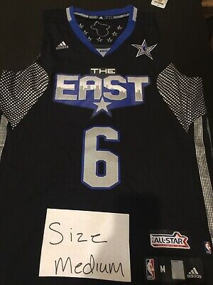 LEBRON JAMES 2011 NBA ALL-STAR SWINGMAN JERSEY M BRAND NEW TAGS 100% AUTHENTIC