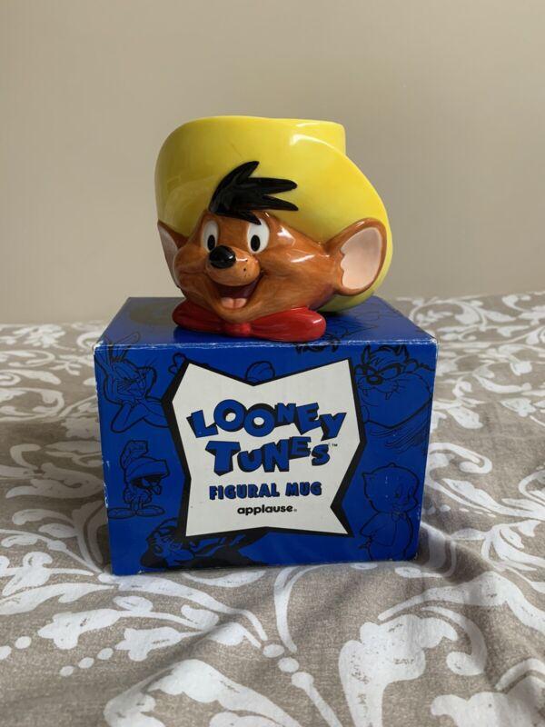 Vintage Applause Speedy Gonzales Mug Cup 1994 Warner Bros