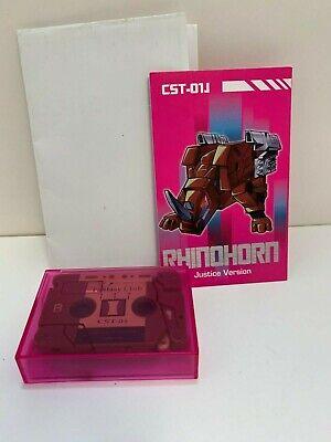 Transformers RAMHORN kfc 3rd party cassette KFC CST-01J
