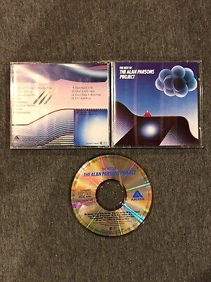 Best of The Alan Parsons Project (CD, 1983 ARISTA) West Germany 610 (West Of Best Project)