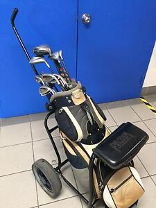 Precept Golf clubs and trolley Logan Central Logan Area Preview