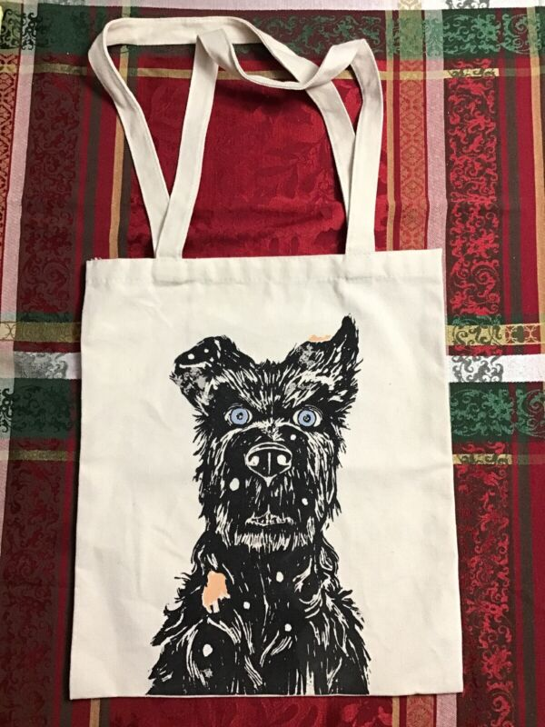 ULTRA RARE SDCC  2018  Isle Of Dogs Tote Bag Wes Anderson Japanese