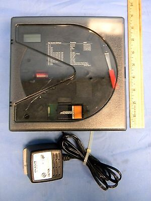 "Dickson KT603 6"" Chart Recorder w/AC Adapter 9V Battery Backup"