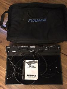 Furman spb8 powered stereo pedal board