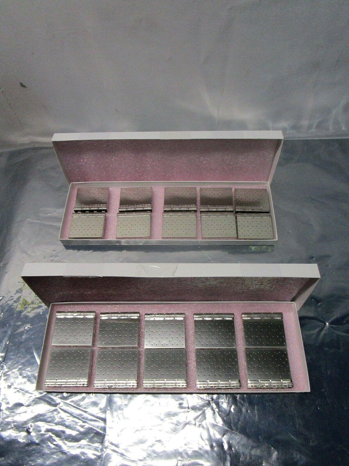 1 Lot of 10 Molex 0747541420 1X4 SFP+ Cage Press Fit w/Spring, 102556
