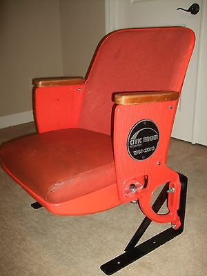 1967 Original Civic Arena  Mellon Arena Stadium Seat Pittsburgh Penguins DEAL