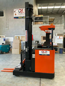 BT RRE160,E/C/M 7.5m Reachtruck, very low Hrs Reach Forklift Luscombe Gold Coast North Preview