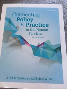 Book: Connecting Policy to Practice in the Human Services