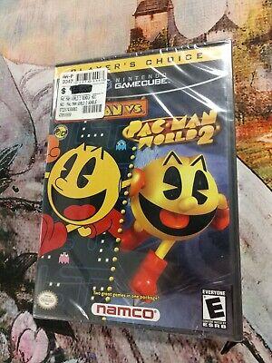Nintendo GameCube PAC man vs Pacman world 2 bundle Factory Sealed!