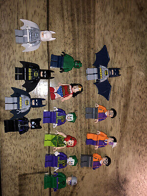 Lego Super Heroes Minifigures Marvel DC Comics Avengers Everything In Pictures
