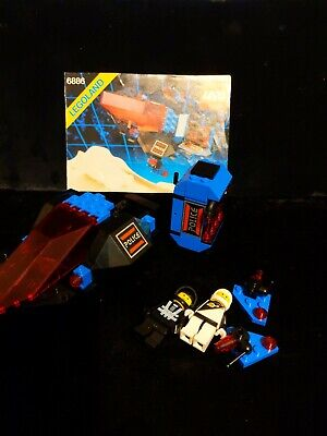VTG 1989 LEGO 6886 Space Police Galactic Peace Keeper please read missing 3 pie