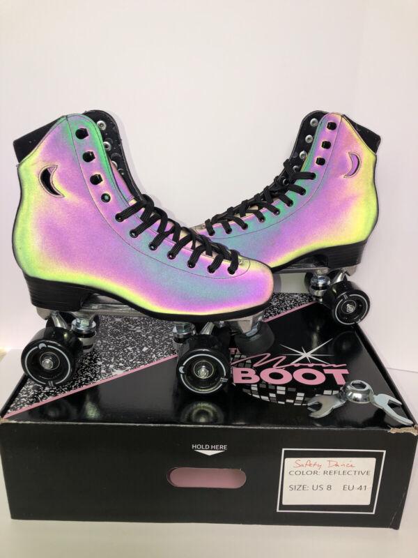 Moonlight Roller Moon Boot Roller Skates Safety Dance Size 8 (Women's 9-9.5)