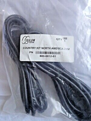 Power Cord , Country Kit North America 208V, Isilon 8' NEW ()