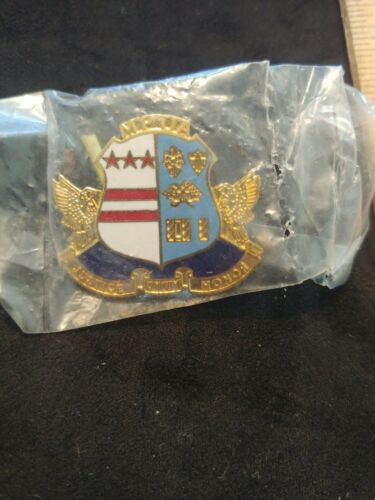 D.C. Police MPOA Justice Unity Honor Large Pin