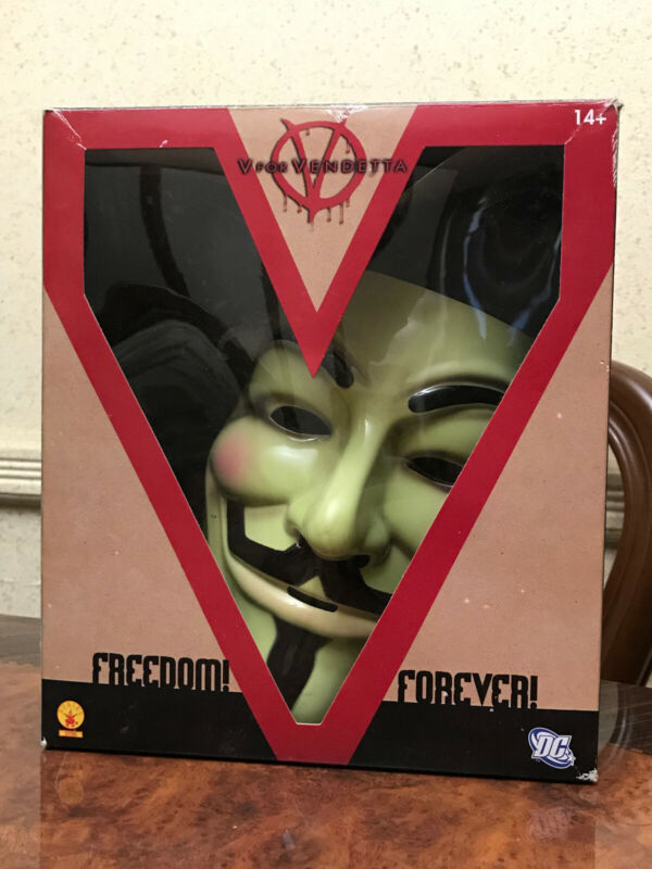 V for Vendetta Anonymous Guy Fawkes High Quality Official Legion Mask