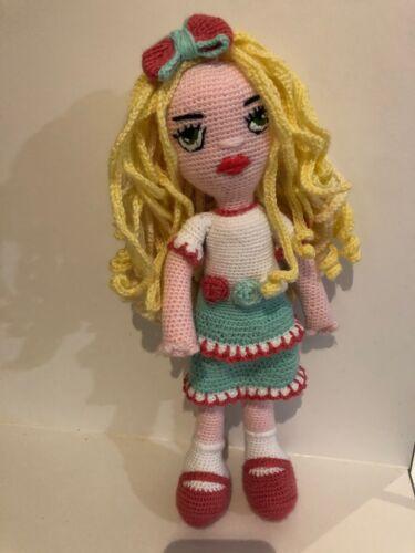 Amigurumi  Doll Pattern  Evette