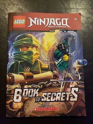 Lego Ninjago Book Of Secrets With Figure Scholastic