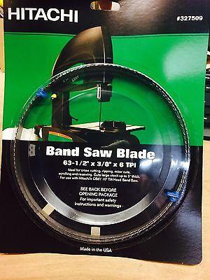 Hitachi 327509 Band Saw Blade 63- 12 X 38 X 6 Tpi 1 Pc K100-wh44
