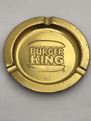 Vintage 1980s BURGER KING ASHTRAY Restaurant Advertising 80s USA Memorabilia