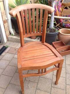 Solid Timber Outdoor Dining Chair Beckenham Gosnells Area Preview