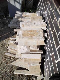 Travatine off-cuts Mortdale Hurstville Area Preview