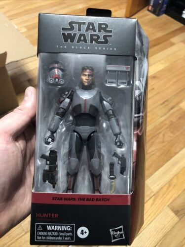 Star Wars The Black Series Bad Batch Clone Hunter 6-inch Action Figure In Stock - $22.00