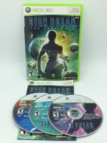 Star Ocean: The Last Hope (Microsoft Xbox 360, 2009) Complete Tested