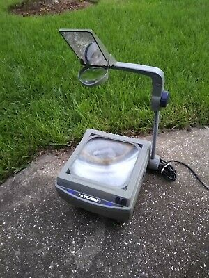 Vintage Apollo Overhead Projector Horizon 2 - Halogen Bulb Works Great