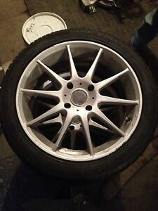 """17"""" rims and tires for sale"""