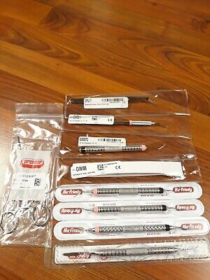 New Lot Of 9 Hu-friedy Dental Instruments And Premier Hemostat