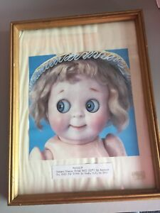 11x14 Creepy looking doll picture