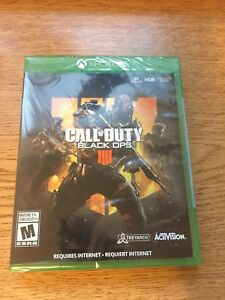 NEW AND SEALED BLACK OPS 4 XBOX ONE