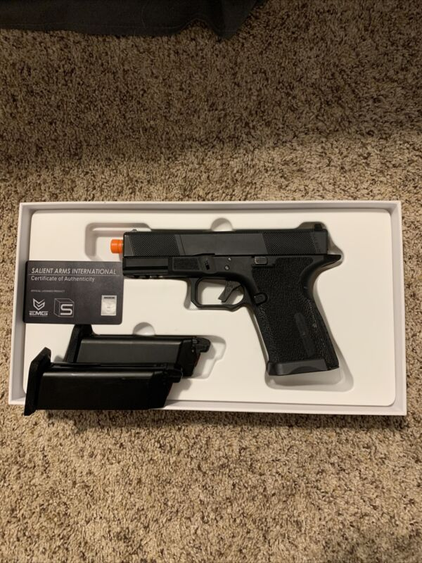 EMG SAI BLU Compact green gas airsoft pistol
