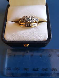 Diamond engagement and wedding ring set Baulkham Hills The Hills District Preview