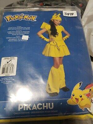 Baby Pikachu Halloween Costumes (Pokemon Girl's Pikachu Child Costume, Pokemon Go last)