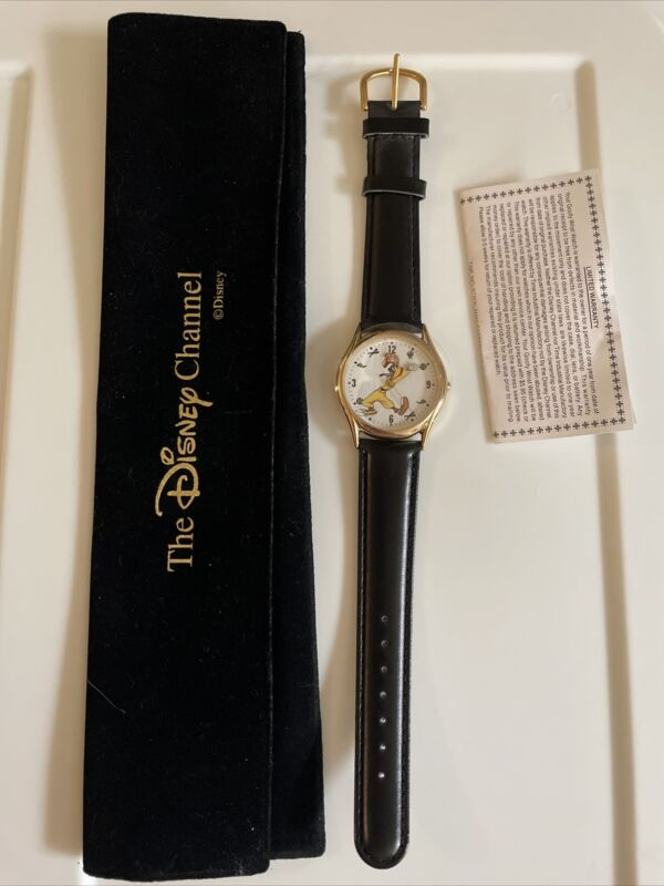 Disney Channel Cast Member Special Edition Goofy Backwards Arms Baseball Watch