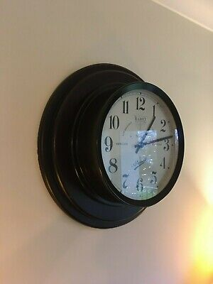 art deco wall clock pattress newgate metamec smiths