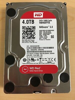 Western Digital Red 4TB Internal Hard Drive 3.5