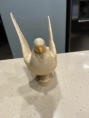Haeger #650 USA Doves Pigeon Art Pottery Life Size Vintage